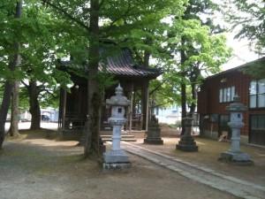 高見町(上高見)諏訪神社